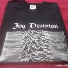 Música de colección: CAMISETA JOY DIVISION ( UNKNOWN PLEASURES ) NUEVA. Lote 134336898