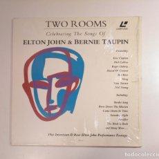 Música de colección: TWO ROOMS CELEBRATING THE SONG OF ELTON JOHN & BERNIE TAUPIN. - LASER DISC. - LASERDISC. TDKDA29. Lote 134561970