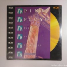 Música de colección: PINK FLOYD. LIVE AT POMPEII. FULL LENGHT VERSION. CONTAINS EXTRA FOOTAGE. CD VIDEO LASERDISC TDKDA29. Lote 134562730