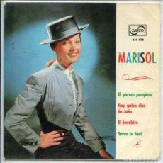Música de coleção: CARATULA - MARISOL. Lote 135290550