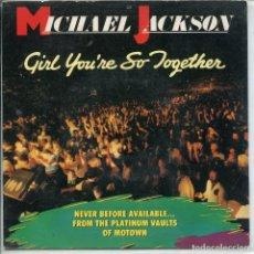 Música de colección: CARATULA - MICHAEL JACKSON. Lote 135290906