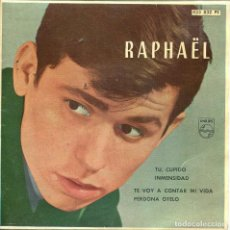 Musique de collection: CARATULA - RAPHAEL. Lote 135293682