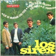 Musique de collection: CARATULA - LOS SIREX. Lote 135296318