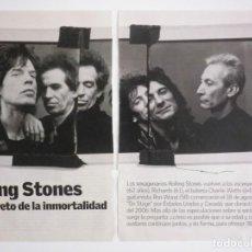 Música de colección: ROLLING STONES REPORTAJE REVISTA MAGAZINE. Lote 136264494