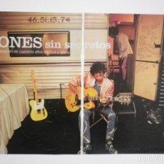 Música de colección: ROLLING STONES REPORTAJE REVISTA MAGAZINE. Lote 136264746
