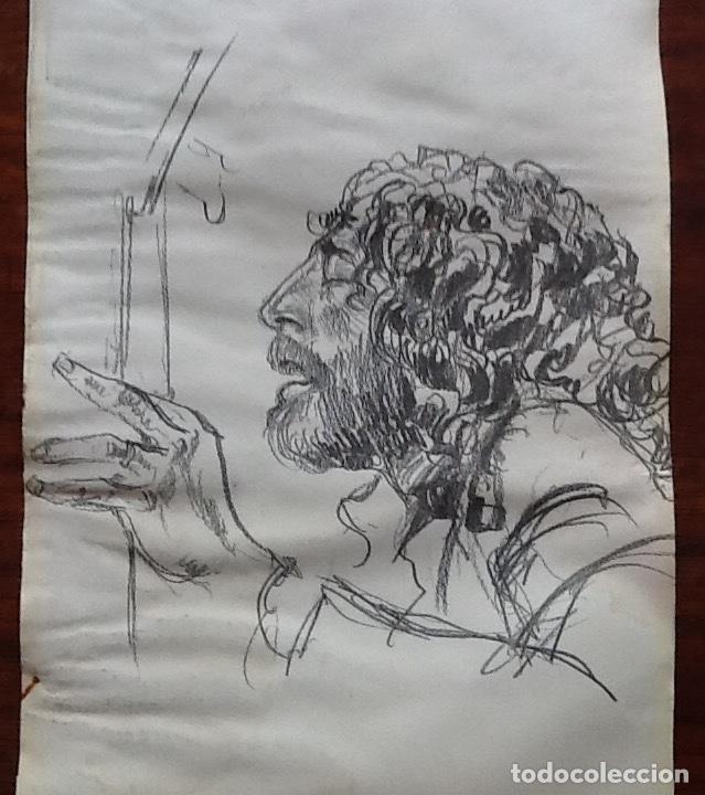 Música de colección: LOLE Y MANUEL. DIBUJOS A LAPIZ.ENVIO CERTIFICADO INCLUIDO. - Foto 3 - 136365742