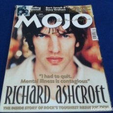 Música de colección: REVISTA MOJO THE MUSIC MAGAZINE ( RICHARD ASHCROFT , ROLLING STONES... ) JULIO 2000 Nº 80 ENGLAND. Lote 136910146