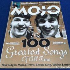 Música de colección: REVISTA MOJO GATEFOLD EDITION ( THE BEATLES THE 100 GREATEST SONGS ) AGOSTO 2000 Nº 81 ENGLAND. Lote 136921342
