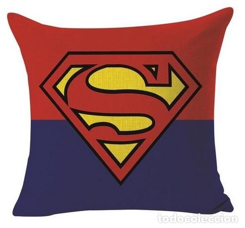 SUPERMAN - SUPERMAN ART LOGO !! - EXCLUSIVO COJIN ALGODÓN Y LINO, LIMT EDIT, NUEVO (Música - Varios)
