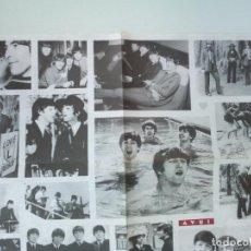 Música de colección: CARTEL DIARI AVUI BEATLES 30 ANYS DESPRES 1995 . Lote 137631078