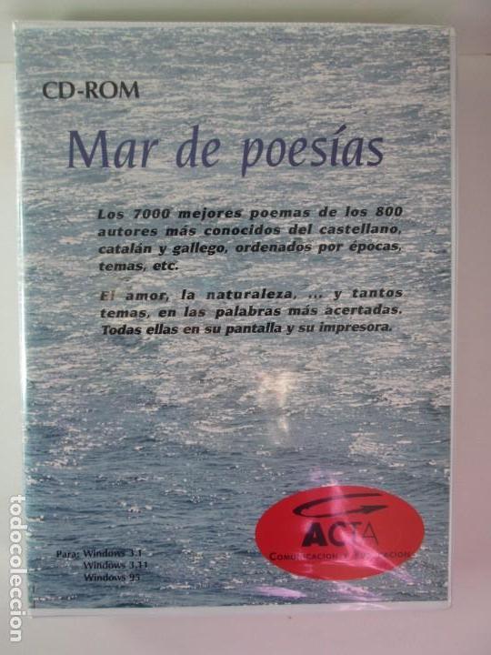 Cd Rom Mar De Poesias 7000 Poemas De Los 800 Buy Other Music Items At Todocoleccion 137873782