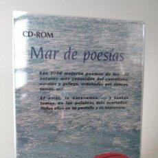 Música de colección: CD-ROM. MAR DE POESIAS. 7000 POEMAS DE LOS 800 AUTORES DEL CASTELLANO,CATALAN, GALLEGO.CD NUEVO. Lote 137873782