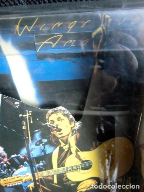 Música de colección: BEATLES PAUL McCARTNEY WINGS OVER AMERICA TROQUELADO EN CAJA PLASTICO PROMOCION DISCO TIENDAS - Foto 7 - 138777270