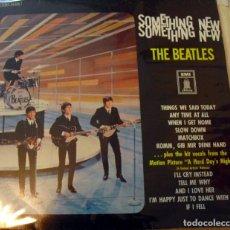 Música de colección: THE BEATLES: SOMETHING NEW-ORIGINAL ALEMAN-ODEON AZUL- IMPRESIONANTE SONIDO!-VEALO. Lote 139545822