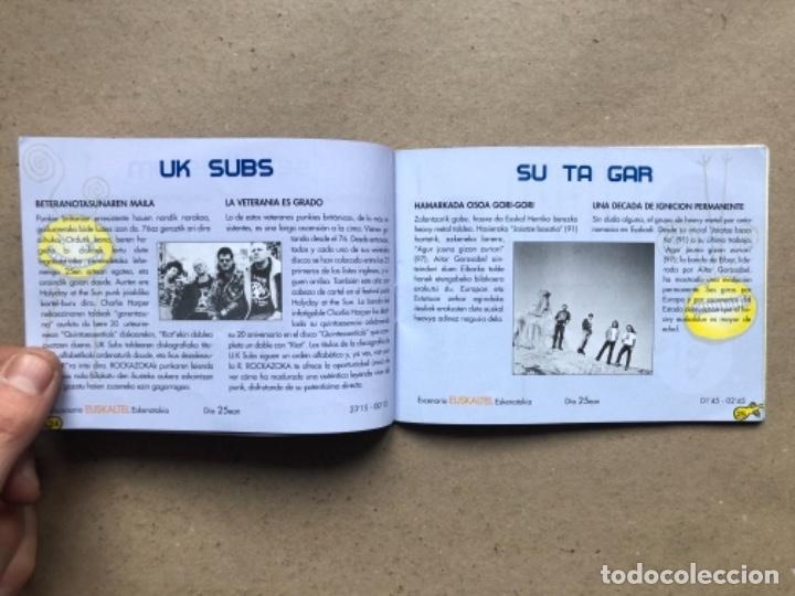 Música de colección: ROCK AZOKA 99. GUÍA FESTIVAL EN BILBAO: CLAWFINGER, HELLACOPTERS, FERMÍN MUGURUZA, ROSENDO, LOS ENEM - Foto 10 - 139996558