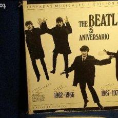 Música de colección: THE BEATLES 25 ANIVERSARIO CAJA VACIA EN SU ESTADO . Lote 140325270