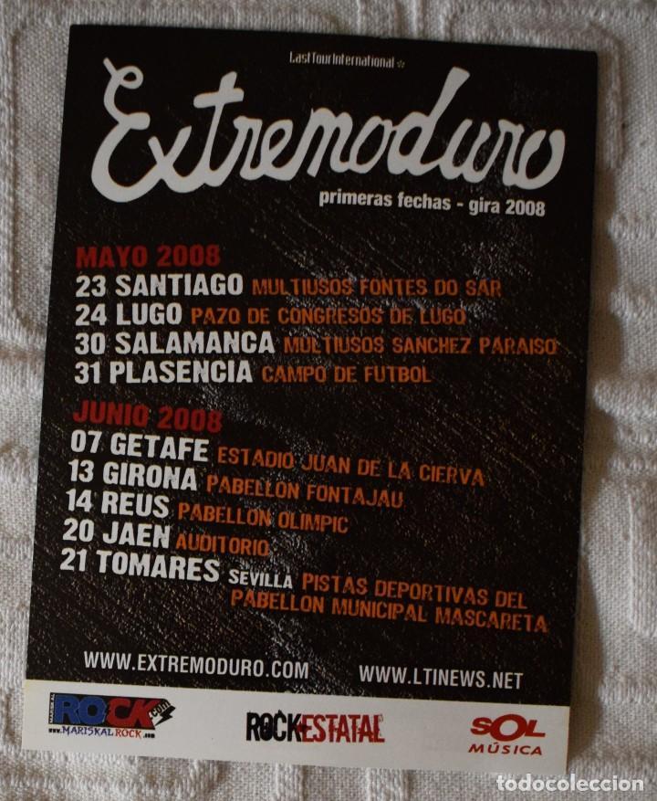 FLYER GIRA 2008 EXTREMODURO (Música - Varios)