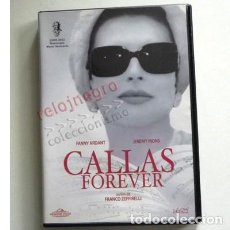 Música de colección: CALLAS FOREVER DVD PELÍCULA FANNY ARDANT JEREMY IRONS CANTANTE DE ÓPERA MARÍA - OSUNA CÓRDOBA CARMEN. Lote 161643526