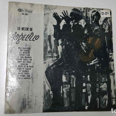 Música de colección: LP, RCA: LO MEJOR DE ANGELILLO - DOCE CASCABELES, DOS CRUCES, LOS GITANITOS. Lote 140736645