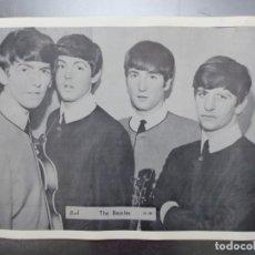 Música de colección: POSTER THE BEATLES - AÑOS 1960-70, JOHN LENNON, PAUL MCCARTNEY, GEORGE HARRISON, RINGO STARR. Lote 141180902