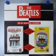 Música de colección: POSTER THE BEATLES - AÑOS 1960-70, JOHN LENNON, PAUL MCCARTNEY, GEORGE HARRISON, RINGO STARR. Lote 141181462