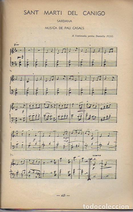 Música de colección: Pau Casals. Festival Bach Mozart Beethoven. Tramontane 335-6. Juillet-Aout 1951. 25x16cm. 64 p. - Foto 4 - 142064270