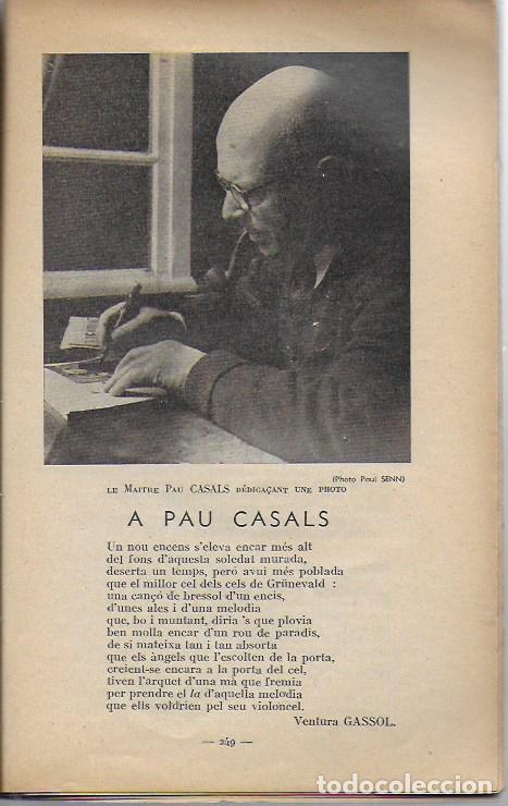 Música de colección: Pau Casals. Festival Bach Mozart Beethoven. Tramontane 335-6. Juillet-Aout 1951. 25x16cm. 64 p. - Foto 6 - 142064270