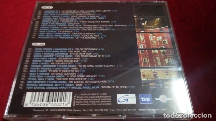 Música de colección: Operación triunfo - La fuerza de la vida. Edición en la que participó Manuel Carrasco. 2 discos - Foto 2 - 142129458