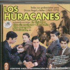 Música de colección: LOS HURACANES - CD MUSICAL. Lote 142864564