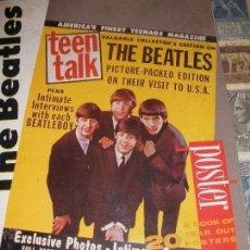 Música de colección: THE BEATLES - POSTER BOOK - 42CM X 29,5CM - MULTITUD DE FOTOGRAFIAS A TODA PAGINA - ATALANTA PRESS. Lote 143130082