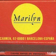 Música de colección: MARILYN, TIENDA DISCOS BARCELONA. FINALES 80'S. Lote 143902742