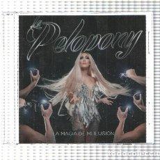 Música de colección: CD: LA PELOPONY - LA MAGIA DE MI ILUSION. Lote 143946364