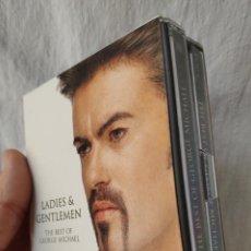 Música de colección: GEORGE MICHAEL - LADIES & GENTLEMEN - 2 MINIDISC MINI-DISC DOBLE - DESPRECINTADO USADO 1 VEZ. Lote 144225126