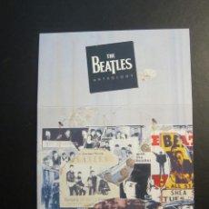 Música de colección: THE BEATLES ANTHOLOGY . RARO CARTON- CAJA PARA GUARDAR LOS 3 CDS . NUNCA VENDIDO. Lote 245748190