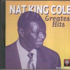 Música de colección: CD MUSICA: NAT KING COLE - GREATEST HITS. Lote 144846993