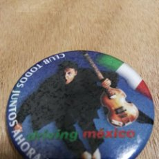 Música de colección: PAUL MCCARTNEY BEATLES CHAPA CLUB DE FANS DE MÉXICO 5'5 CM . Lote 145196102