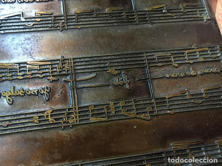 Música de colección: MI CUBA. Antiguas planchas de imprenta de la habanera, havanera. Pieza unica de museo - Foto 5 - 145339910