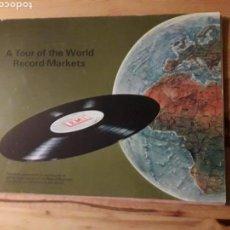 Música de coleção: EMI A TOUR OF THE WORLD RECORD MARKETSLIBRO VINILOS MUSICA. Lote 145618977