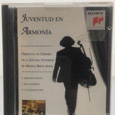 Música de colección: MINI DISC JUVENTUD EN ARMONIA. Lote 146092738