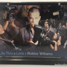 """Música de colección: MINI DISC ROBBIE WILLIAMS """" LIFE THRU A LENS """". Lote 146093232"""