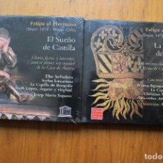 Música de coleção: FELIPE EL HERMOSO. Lote 146112278