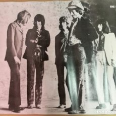 Música de colección: ROLLING STONES POSTER FOTOGRÁFICO 1970. Lote 146270406
