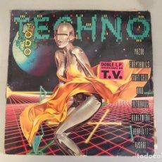 Música de colección: TODO TECHNO. Lote 146454796