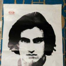 Música de colección: POSTER MOVIE PLAY LLUIS LLACH 1973-RECITAL SALA LOYOLA MANRESA CON JOAN ISAAC.. Lote 147064350