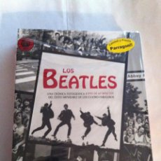 Música de colección: BEATLES -PARRANGON- LIBRO CON MULTIPLES FOTOS Y DVD. Lote 147150782