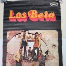 Música de colección: CARTEL DE LOS BETA, MIDE 95CM. X65CM.. Lote 147569222