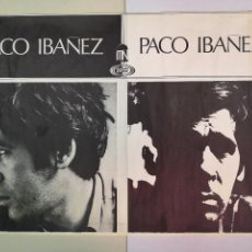 Música de colección: PACO IBAÑEZ CARTEL AÑOS 60.MIDE 95CM. X65CM.. Lote 147569438