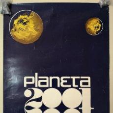 Música de colección: PLANETA 2001,CARTEL DISCOTECA.MIDE 65CM.47CM.. Lote 147570034