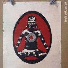 Música de colección: CARTEL MADDOX PLAYA DE ARO, CLUB-DISCOTHEQUE 1970 . Lote 147571602