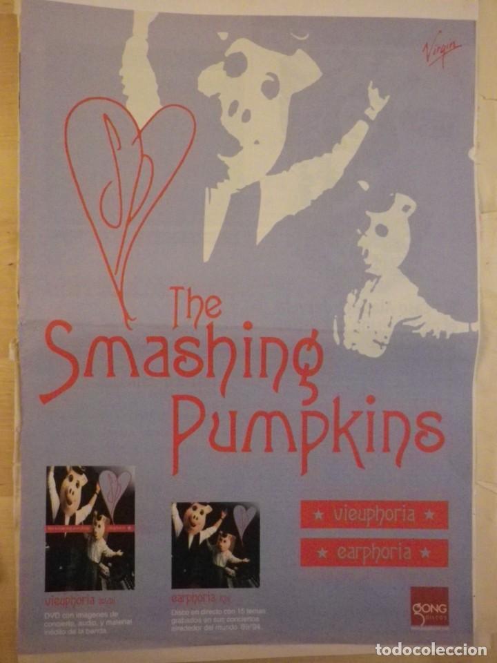 THE SMASHING PUMPKINS HOJA PROMO EARPHORIA VIEUPHORIA (Música - Varios)